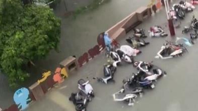 雨彈轟炸!北港全鎮泡水、廿年最嚴重