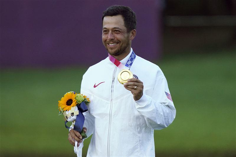 東京奧運高球金牌得主蕭佛利。(圖/達志/美聯社)
