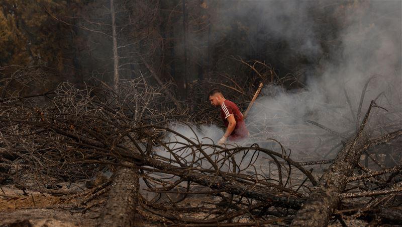 土耳其野火 民眾社媒求援遭檢方調查