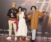 原民樂團「漂流出口」獲得金曲32最佳原住民語專輯獎。(記者/邱榮吉/攝影)