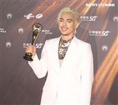 HUSH獲得金曲32最佳作曲人獎。(記者/邱榮吉/攝影)