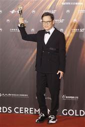羅大佑獲得金曲32特別貢獻獎。(記者/邱榮吉/攝影)