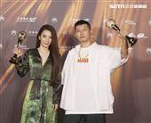蛋堡、田馥甄獲得金曲32華語男女歌手獎。(記者/邱榮吉/攝影)