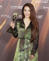 田馥甄獲得金曲32華語女歌手。(記者/邱榮吉/攝影)