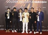 桑布伊獲得金曲32年度專輯獎。(記者/邱榮吉/攝影)