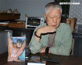 蔣勳三立新聞網專訪。(記者邱榮吉/攝影)