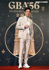 第56屆廣播金鐘獎主持人劉傑中首度主持。(記者邱榮吉/攝影)