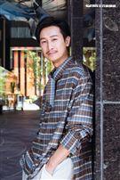 邱凱偉三立新聞網專訪。(圖/記者楊澍攝影)