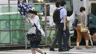璨樹颱風登陸日本 強風豪雨災情頻傳