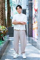 楊銘威三立新聞網專訪。(圖/記者楊澍攝影)