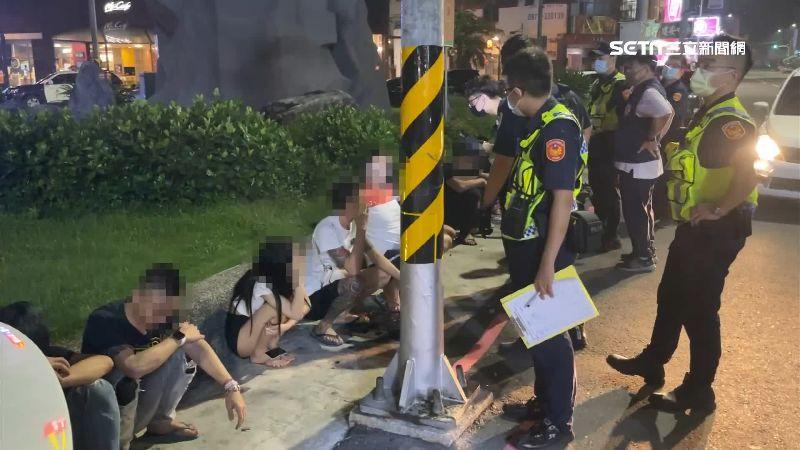 12男女「路口群聚」 警搜出K他命