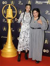 女孩上場演員蔡嘉茵、高倩怡出席公視金鐘入圍茶會。(記者邱榮吉/攝影)