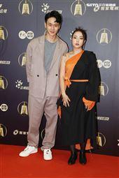 致親愛的孤獨者演員劉冠廷、李雪出席公視金鐘入圍茶會。(記者邱榮吉/攝影)