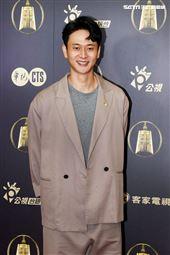 致親愛的孤獨者演員劉冠廷出席公視金鐘入圍茶會。(記者邱榮吉/攝影)