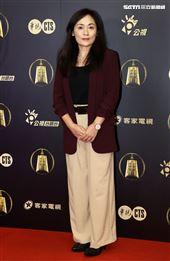 光的孩子演員徐堰鈴出席公視金鐘入圍茶會。(記者邱榮吉/攝影)