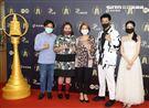 我的婆婆那麼可愛製作人陳慧玲演員許傑輝、鍾欣凌、邱凱偉出席公視金鐘入圍茶會。(記者邱榮吉/攝影)
