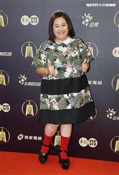 我的婆婆那麼可愛演員鍾欣凌出席公視金鐘入圍茶會。(記者邱榮吉/攝影)