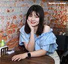 謝宜君校花女兒陳欣妤三立新聞網專訪。(記者邱榮吉/攝影)