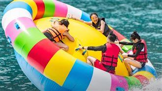 南澳新玩法!大啖海鮮嗨翻海上風火輪