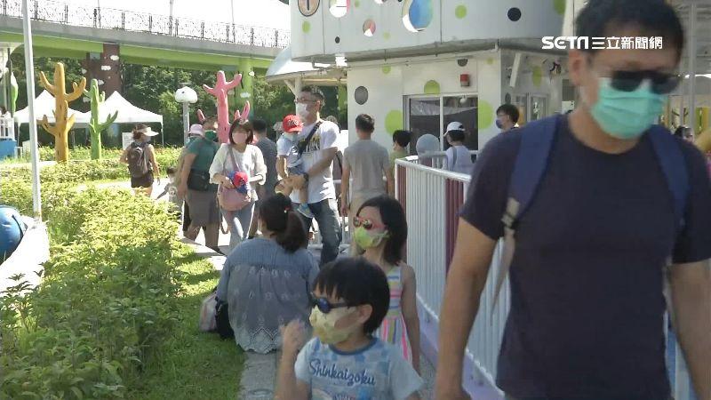 兒童新樂園放寬 總人數開放到3千2