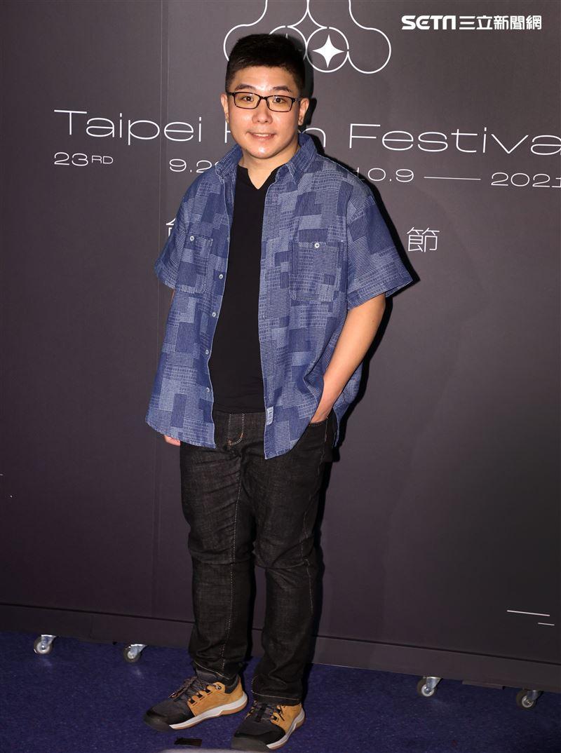 台北電影節「徘徊年代」導演張騰元。(記者邱榮吉/攝影)