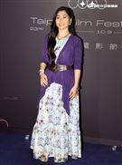 台北電影節「徘徊年代」演員阮安妮。(記者邱榮吉/攝影)