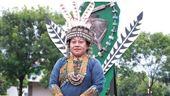 全運會聖火意象 排灣族女領袖扛部落