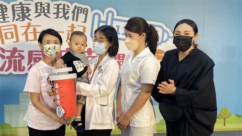 譚艾珍孫「新醬加持」流感疫苗今開打