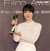 陽靚奪得台北電影獎最佳女主角。(記者邱榮吉/攝影)