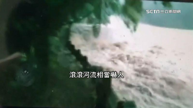 山洪前兆「齊頭水」 只剩10秒可逃