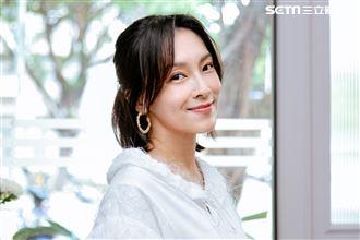 陳瑋薇三立新聞網專訪。(圖/記者楊澍攝影)