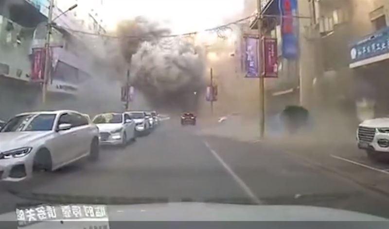 中国1栋楼突爆炸!「整栋炸毁」现场惨况曝 已34人死伤(视频)