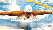 台灣首位達到奧運A標的男子游泳選手