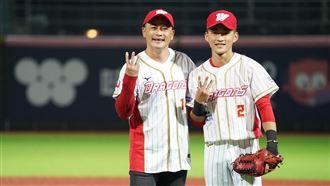 「葉總是我學弟」江宏恩燃燒棒球魂
